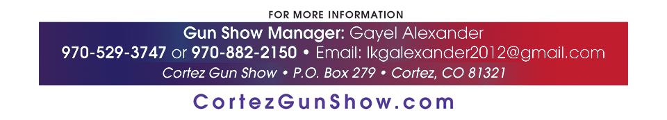 Contact Cortez Gun Show