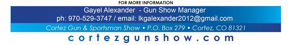 Cortez Gun Show Contact